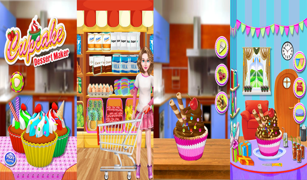 cupcake giochi di cucina - App Android su Google Play