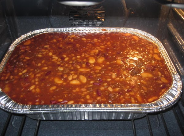 Four Bean Baked Beans With Ground Beef By Rose Recipe