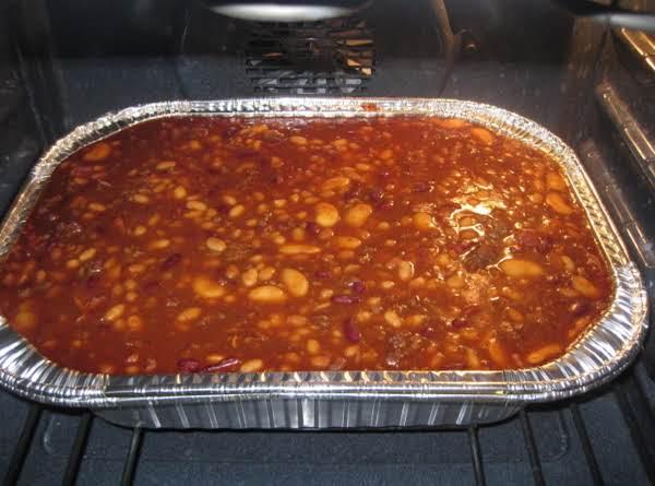 4 Bean Baked Bean Casserole