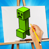 Drawing Lessons : Minecraft