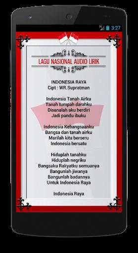 Download Lagu Nasional Audio Lirik Google Play Softwares