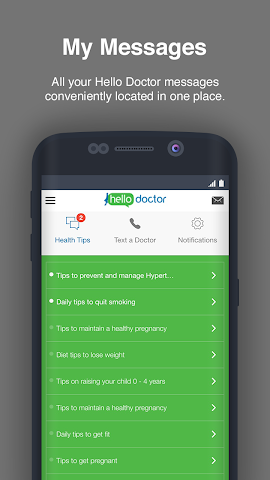 android Hello Doctor Screenshot 2