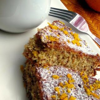 Moroccan Orange and Almond Cake.