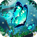 Dazzle Neon Butterfly Theme icon