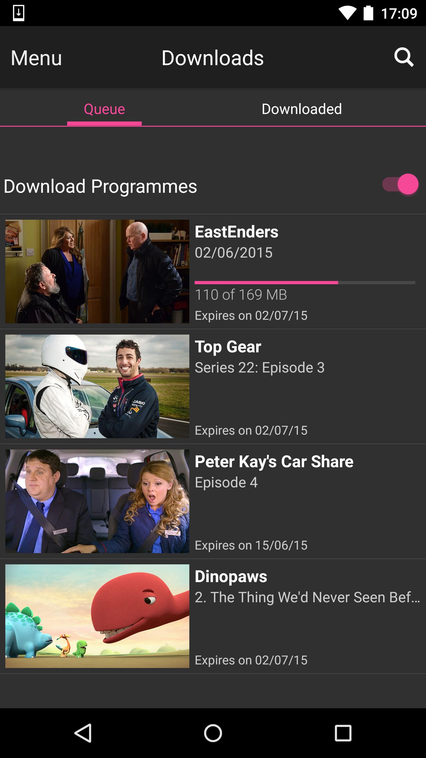 BBC iPlayer screenshot #7