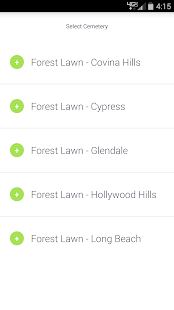 Forest Lawn Visitors Guide- screenshot thumbnail