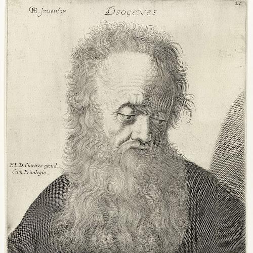 Portret Van Diogenes Van Sinope Jerôme David Attributed To