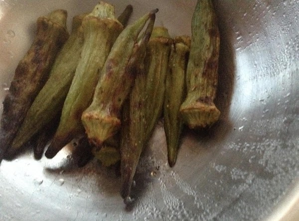Bea's Grilled Or Oven Broiled Okra Recipe