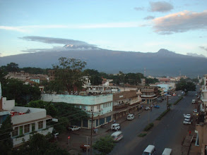 Photo: Kilimanjaro seen from Moshi
