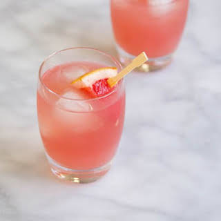 Fresh Grapefruit Margarita Drink.