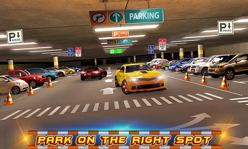 #3. Multi-storey Car Parking 3D (Android)