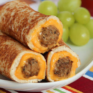 Grilled Cheese Mini Meatball Rollups.