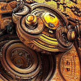 MANDEL by Renaud Louis - Illustration Abstract & Patterns ( digital art redinard pixoto )