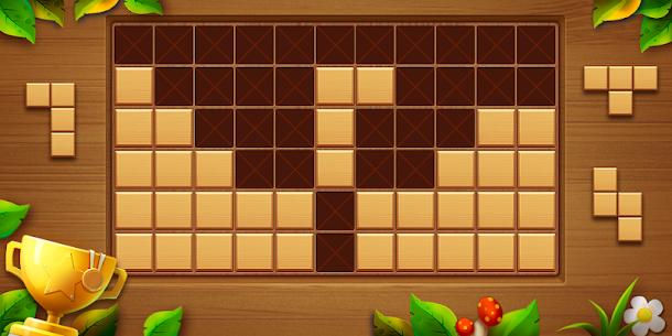 Wood Block Puzzle – Free Classic Block Puzzle Game 1