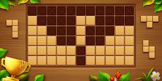 ウッドブロックパズル - 無料のクラシック・ブロックパズルゲームのおすすめ画像1