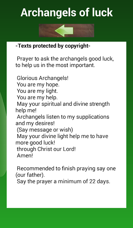 Prayers of good luck – (Android Ứng dụng) — AppAgg