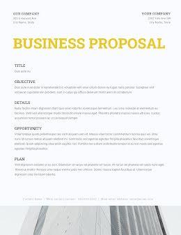 Business Plan - Business Proposal item