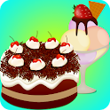 ice cream and cake games icon