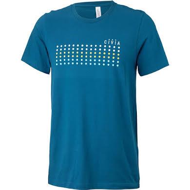 Civia Dot T-Shirt:  Deep Teal alternate image 2