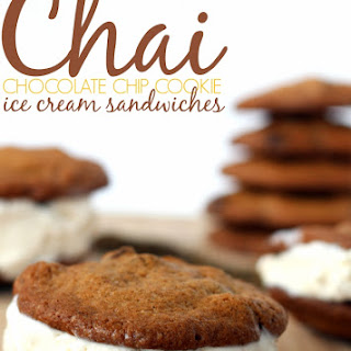 Chai Chocolate Chip Cookie Bowls.