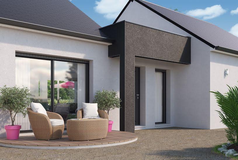 Vente Terrain + Maison - Terrain : 600m² - Maison : 93m² à Neuillé-Pont-Pierre (37360)