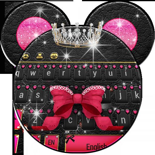 Minny Cute Pink Bowknot Keyboard