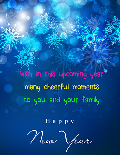 Happy New Year Wishes SMS 1.1 Screenshots 2