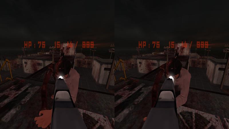Скриншот Zombie Hunter VR