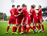La Belgique U17 muette face à Zidane