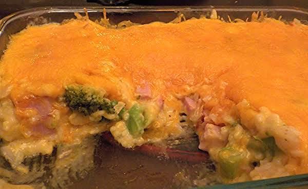 Ham And Broccoli-rice Casserole