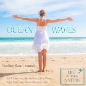 Ocean Waves - Healing Beach Sounds For Relaxation, Meditation, Deep Sleep, Studying, Concentration, Film