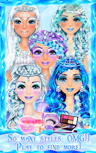Ice Princess Makeup 5