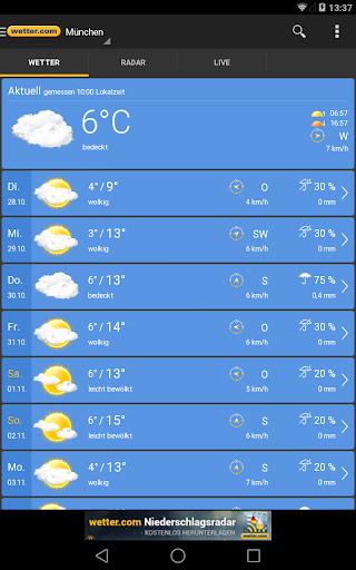 wetter.com - Weather and Radar screenshot 9