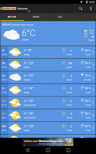 Download wetter.com - Weather and Radar For PC Windows and Mac apk screenshot 9
