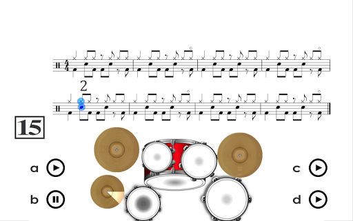 Learn how to play Drums PRO Aplicaciones para Android screenshot