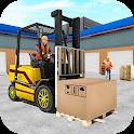 Forklift Cargo Simulator Game icon