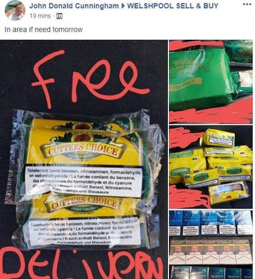 Man gets community service for selling counterfeit tobacco