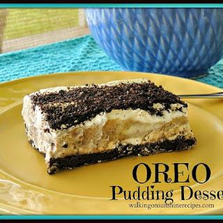Oreo Pudding Dessert.