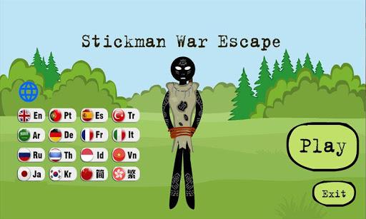 Screenshots von Stickman Henry War Escape 1