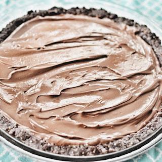Raw Chocolate Silk Pie