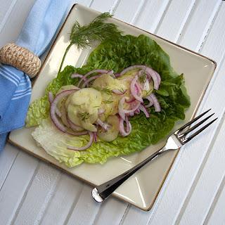 Cucumber Dill Salad (Gurkensalat)