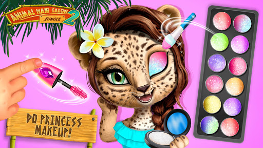 Jungle Animal Hair Salon 2 - Tropical Beauty Salon 5.0.21 screenshots 1