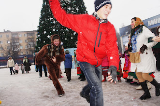 Photo: У ёлки, на центральной площади_Фото Алексей Иванов
