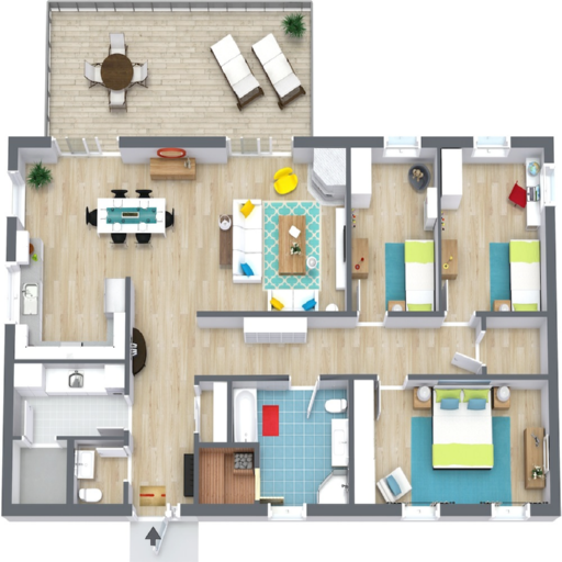 Floor Plan Creator 2.5 screenshots 1