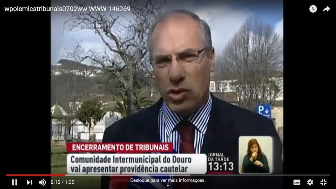 Autarquias do Douro interpõem providência cautelar contra encerramento de tribunais - Vídeo