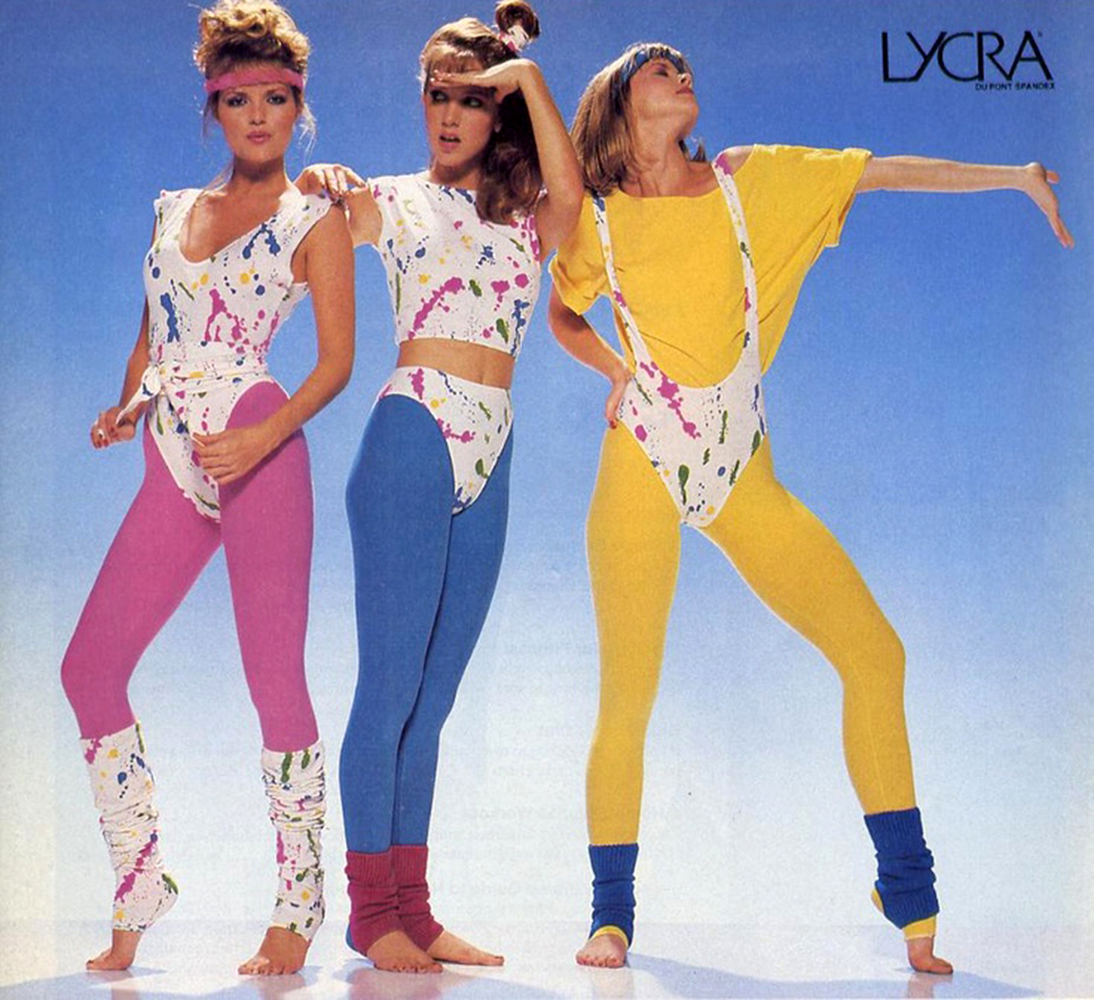 Image result for 80s spandex