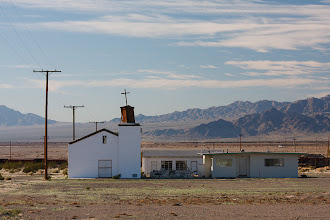 Photo: Old church in the desert
