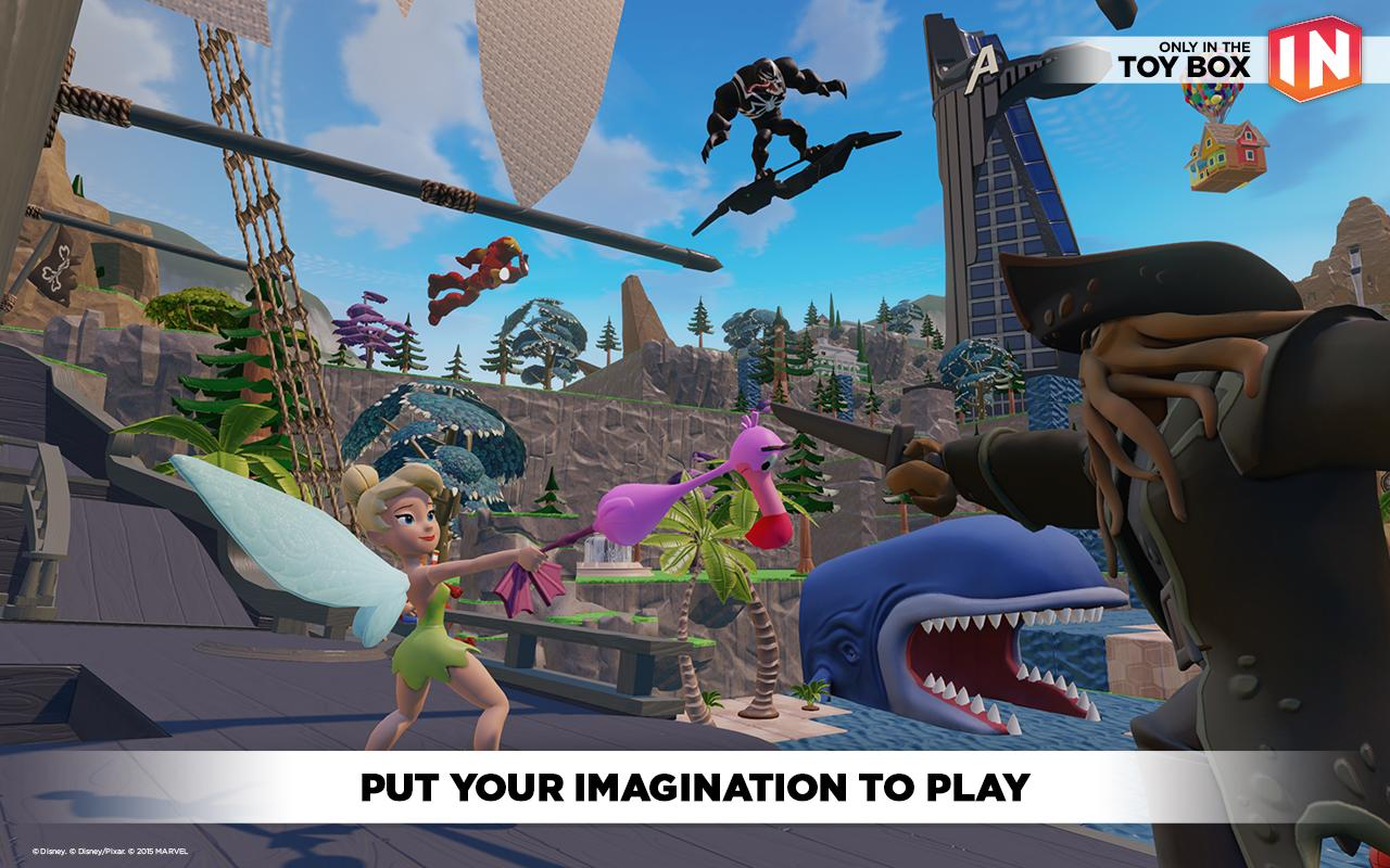 Disney Infinity: Toy Box 3.0 screenshot #2