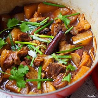 Cantonese Braised Beef Brisket