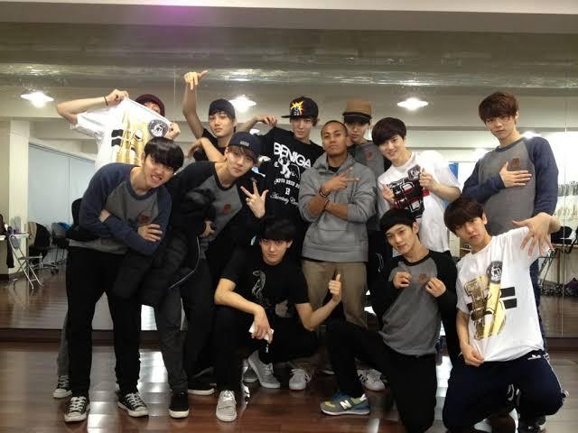 exo pre debut